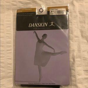 Danskin high performance stirrup tights